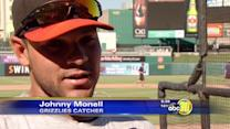 Fresno Grizzlies' Monell Set For AAA Home Run Derby