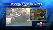 Possible sinkhole leads to building collapse