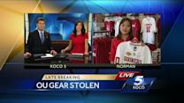 Norman police say OU jerseys stolen from shop