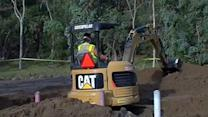 Crews shoring up Daly City hillside before next storm