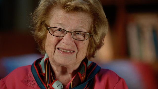 Dr. Ruth talks sex and survival