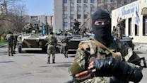 Eastern Ukraine's Pro-Russian Activists Stand Fast