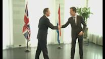 Cameron meets Dutch PM on EU reform tour