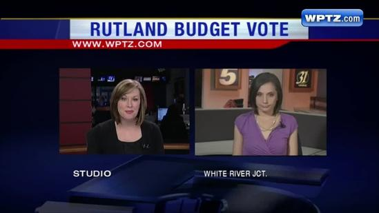 Rutland Town school budget voted down a third time