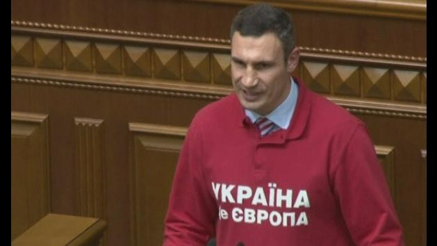 Vitali Klitschko for president - official announcement
