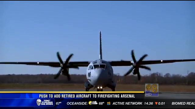 Push to add retired aircraft to firefighting arsenal
