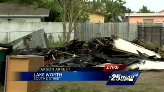 Kids accused of starting fires in Lake Worth