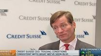 Credit Suisse exiting commodities business: CEO