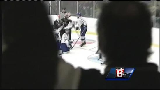 St. Dom's; Bangor and Falmouth Advance in Hockey Semis