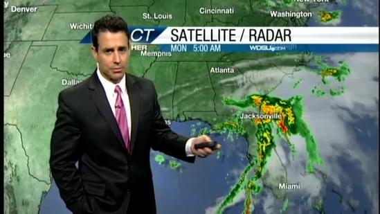As Debby heads east afternoon temperatures heat up
