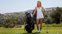The Sexiest Shots in Golf - Anna Rawson Shows You How to Hit a Power Draw with a Driver