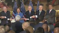 Congressional Leaders: 'We Shall Overcome'