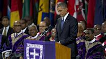 Obama Delivers Eulogy at Funeral of Rev. Pinckney