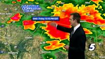 Brad's midday severe weather update