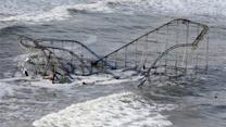 Submerged superstorm Sandy debris threatens tourism