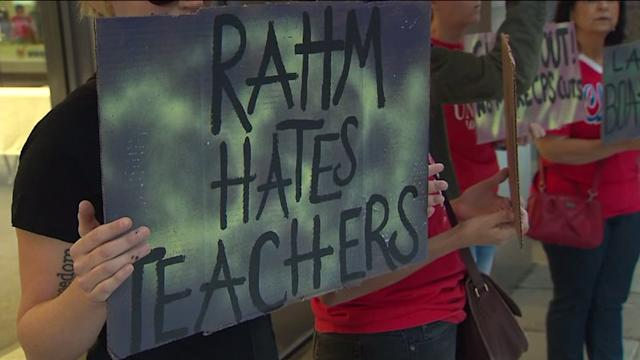 RAW: CTU protest at CPS