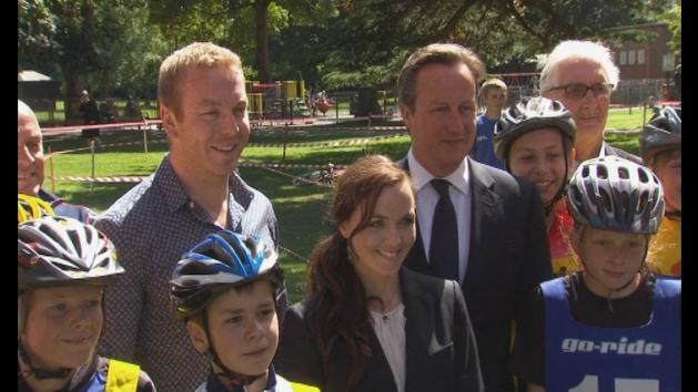 David Cameron on cycling investment