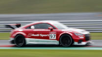 Taking On The World In An Audi TT Race Car