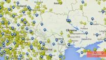 Airlines Divert From Ukraine Airspace After MH17 Crash