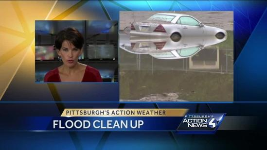 Sutersville residents try to dry out after flash flooding