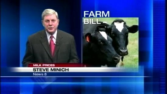 Dairy farmers concerned about farm bill expiring
