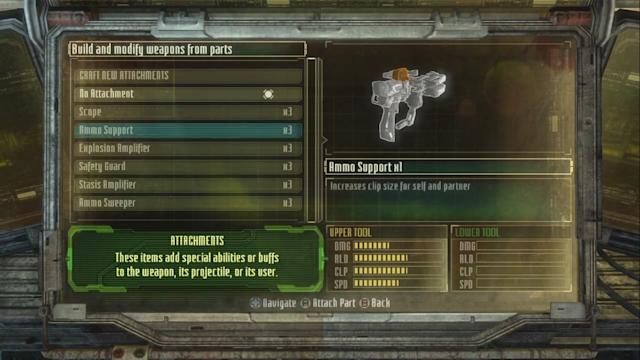 Dead Space 3 Demo | Weapon Crafting