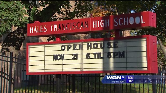 Catholic high school hit by allegations of sexual photos, harassment