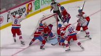 Ovechkin juggles puck then scores on Price