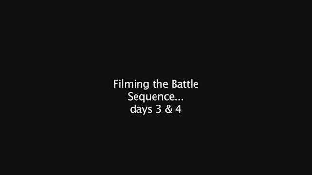 Behind the scenes: Battle scene day 2 and day 3