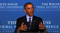 Obama: Sequester, shutdown harmed American Indian tribes