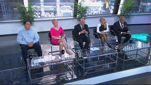 George Stephanopoulos Pitches Original Idea to Shark Panel