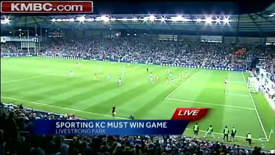 Sporting KC fans pack stadium for must-win game