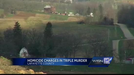 Man charged with killing three in western Wis. with fireplace poker