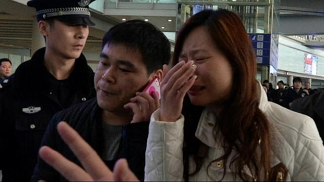 Malaysia Airlines Families Faint, Scream Over Flight News