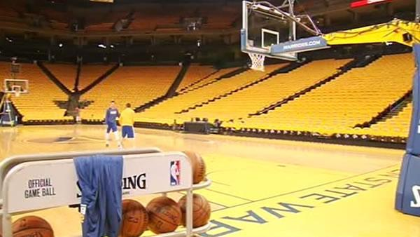 Warriors loose, ready for Game 6 at Oracle