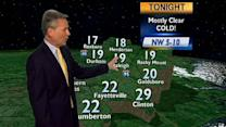 People bundle up as cold weather returns