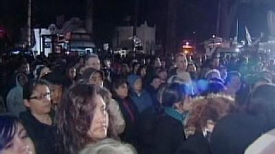 More Than 1,000 Attend Candenas Vigil