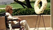 Nancy Reagan Commemorates Husband's Death