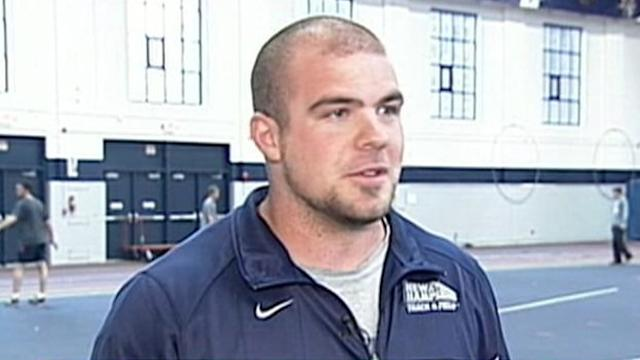 College Shot-Putter Gives Up Career to Donate Bone Marrow