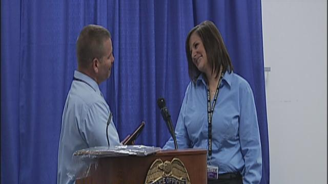 Brandy Watts Recognized as dispatcher of the year