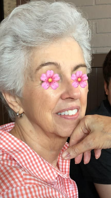 This 78-year-old grandmother may have just revealed the ultimate secret to youthful skin (Photo: Reddit)