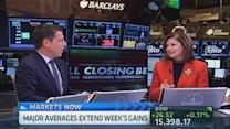 Closing Bell celebrates Maria's 20th anniversary with CNB...
