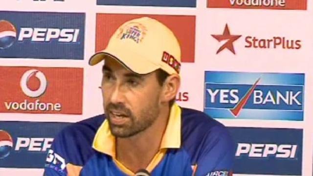 Chennai Super King pre-match press conference