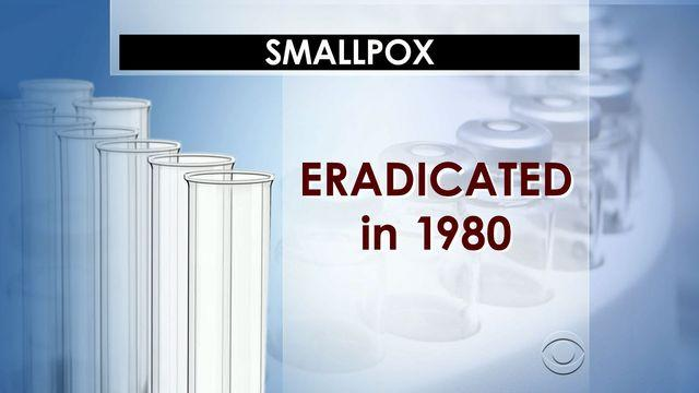 FDA researcher discovers smallpox vial in closet