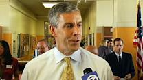 Duncan notes SF school improvements after funding
