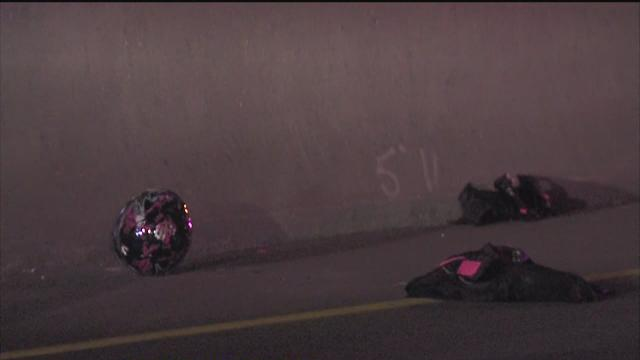 One dead after motorcycle hit FHO trooper