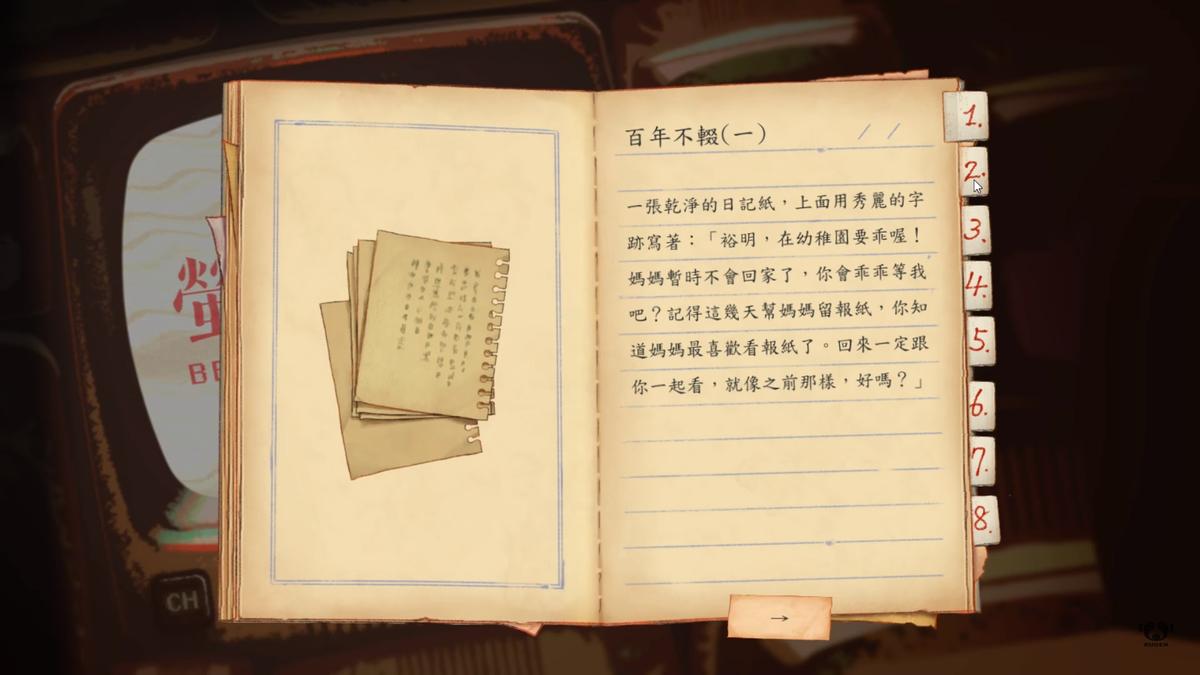 遊戲中的彩蛋非常豐富,有些內容揭露了一些主角身邊發生的恐怖事情。