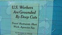 Headlines: Fed budget cuts ground gov't workers