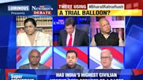 Debate: A trial balloon? - 1