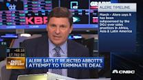 Faber Report: Abbott Labs CEO says Alere 'working through...